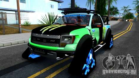 Ford F-150 SVT RaptorTRAX 2012 Ken Block для GTA San Andreas