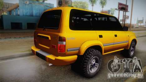 Toyota Land Cruiser 80 Series для GTA San Andreas вид слева