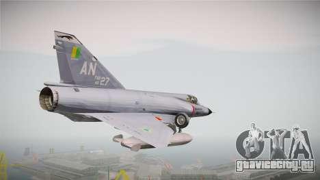 EMB Dassault Mirage III FAB для GTA San Andreas