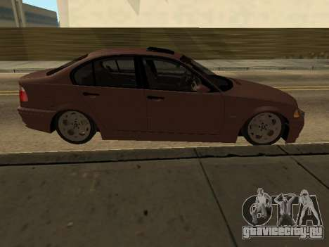BMW 320i Armenian для GTA San Andreas вид слева