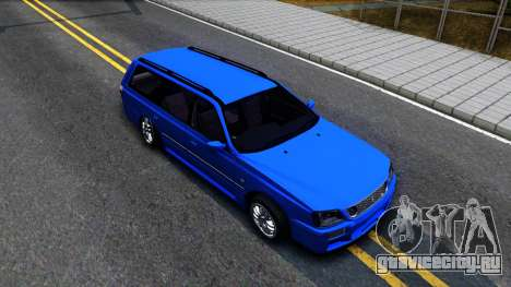 Nissan Stagea WC34 для GTA San Andreas вид справа