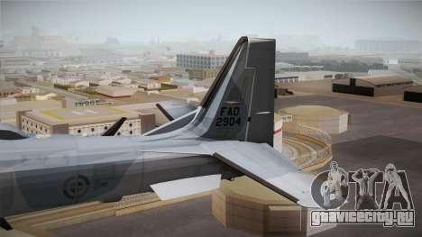 Embraer-314 Super Tucano для GTA San Andreas вид сзади