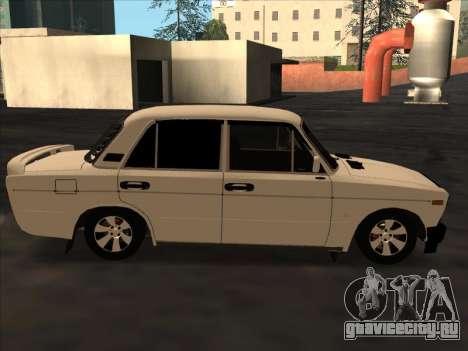 Ваз-2106 Colxoz для GTA San Andreas вид сзади
