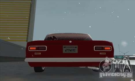 ВАЗ 2101 Снежная версия для GTA San Andreas вид сзади