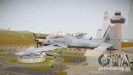 Embraer-314 Super Tucano для GTA San Andreas вид справа