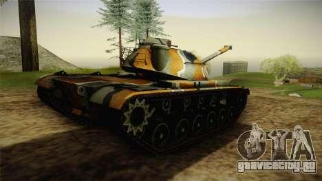 M48A3 для GTA San Andreas вид слева
