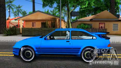 Ford Sierra RS500 Cosworth для GTA San Andreas вид слева