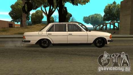Mersedes-Benz E123 Armenia для GTA San Andreas вид слева
