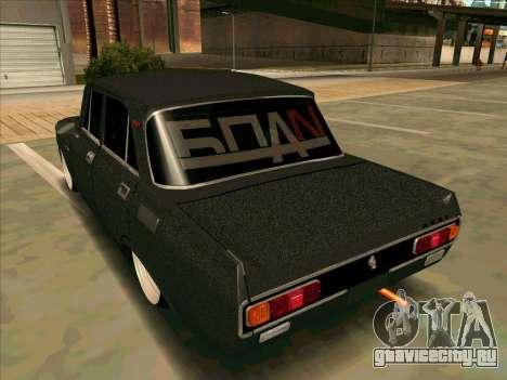 Москвич 2140 БПAN для GTA San Andreas вид сзади