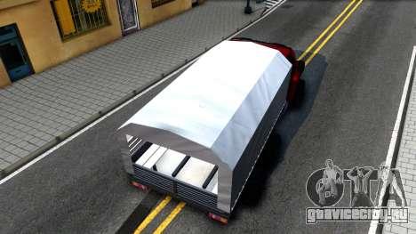 Ural Next для GTA San Andreas вид сзади