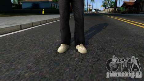 Adidas Yeezy Boost 350 Moonrock для GTA San Andreas второй скриншот