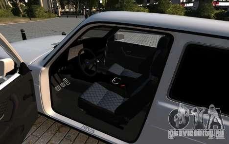 ВАЗ 2121 Нива azelow для GTA 4 вид изнутри