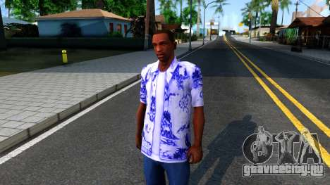 New Hawaii Shirt для GTA San Andreas