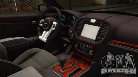 Chrysler 300C 2012 для GTA San Andreas вид изнутри