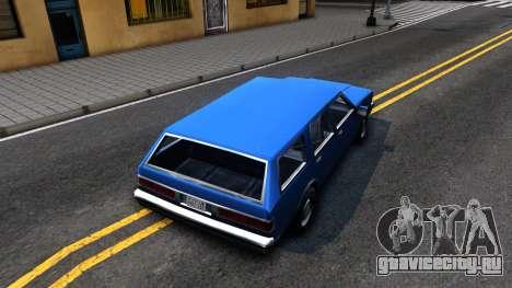 Premier Wagon для GTA San Andreas вид сзади
