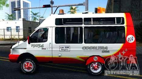 Iveco Turbo Daily V2 для GTA San Andreas вид слева