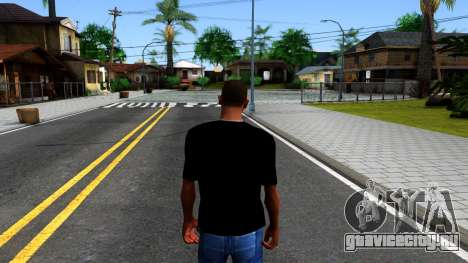 Nike Air Jordan S.O.M. Do You Know T-Shirt Black для GTA San Andreas третий скриншот