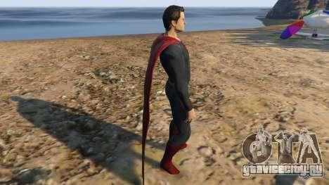 BVS Superman для GTA 5 второй скриншот