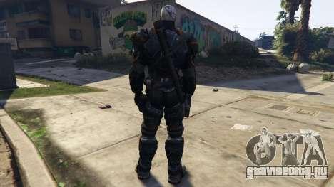 Deathstroke 1.1 для GTA 5 третий скриншот