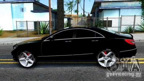 Mercedes-Benz CLS 63 AMG для GTA San Andreas вид слева