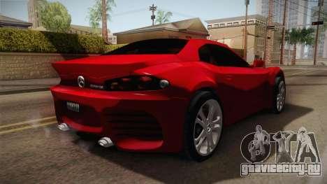 Mercedes-Benz Concept для GTA San Andreas вид справа