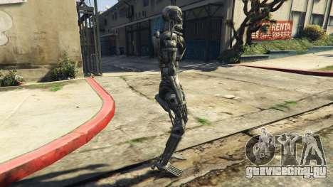 Terminator T-800 для GTA 5 второй скриншот
