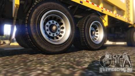 Portugal, Madeira Garbage Truck CMF Skin для GTA 5 вид сзади справа
