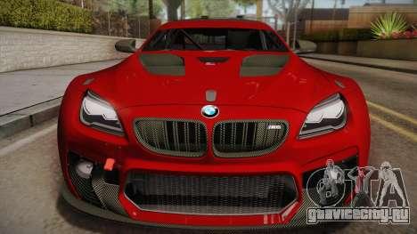 BMW M6 GT3 для GTA San Andreas вид справа