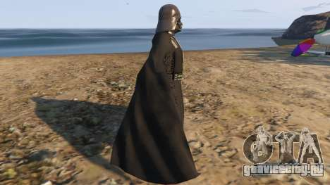 Star Wars Darth Vader для GTA 5 второй скриншот