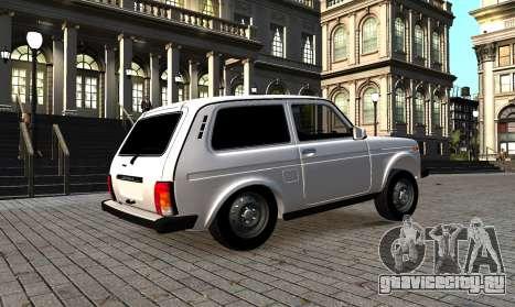 ВАЗ 2121 Нива azelow для GTA 4 вид сзади слева