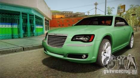 Chrysler 300C 2012 для GTA San Andreas вид сзади слева