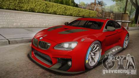 BMW M6 GT3 для GTA San Andreas