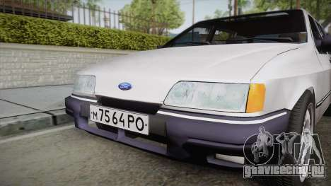 Ford Sierra Tournier 2.3D CL 1988 для GTA San Andreas вид справа