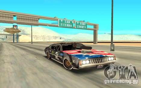 Ken Block Clover 2 для GTA San Andreas