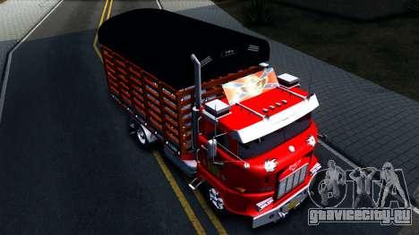 IFA W50 для GTA San Andreas вид справа