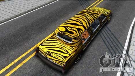 STReTTTcH LoWriDEr для GTA San Andreas вид сзади