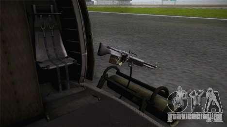 Bell UH-1N Russian для GTA San Andreas вид изнутри