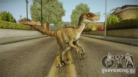Primal Carnage Velociraptor Classic для GTA San Andreas второй скриншот
