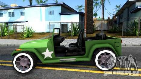 Rat Rod Mesa для GTA San Andreas вид слева