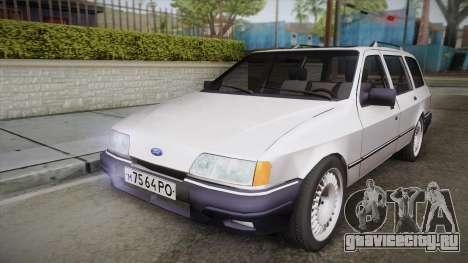 Ford Sierra Tournier 2.3D CL 1988 для GTA San Andreas