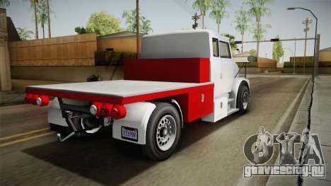 GTA 5 Brute Utility Truck IVF для GTA San Andreas вид слева