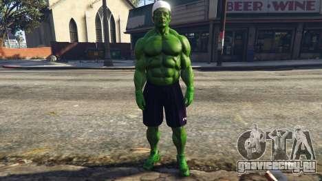 The Hulk with eyes для GTA 5