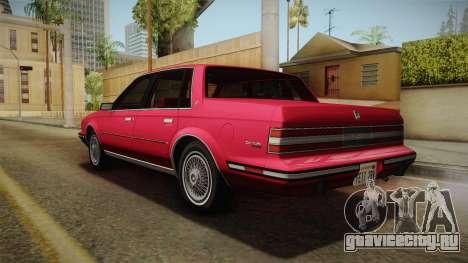 Buick Century 1986 для GTA San Andreas вид слева