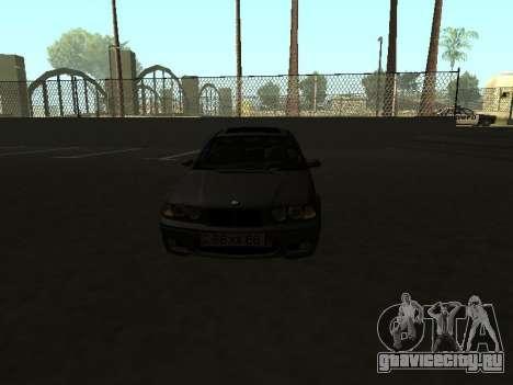 BMW 320i Armenian для GTA San Andreas вид справа