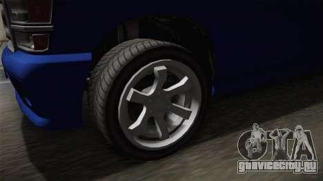 GTA 5 Bravado Bison для GTA San Andreas вид сзади