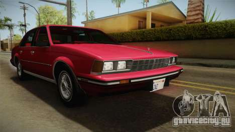 Buick Century 1986 для GTA San Andreas вид справа