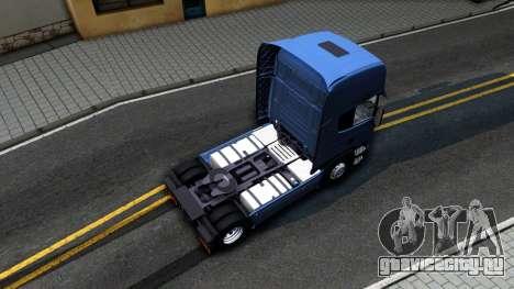 Scania R450 Streamline для GTA San Andreas вид сзади