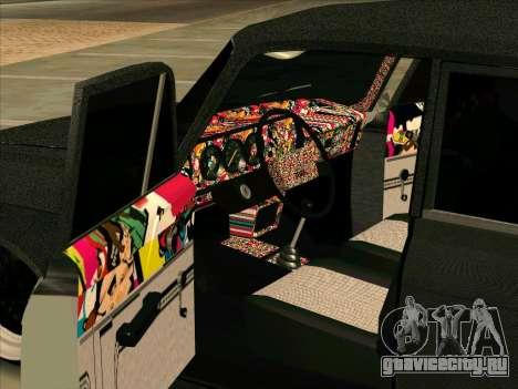 Москвич 2140 БПAN для GTA San Andreas вид справа