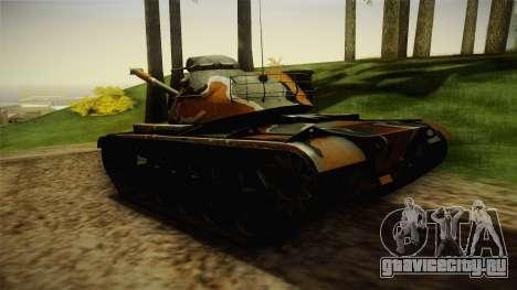 M48A3 для GTA San Andreas вид сзади слева