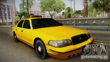 Ford Crown Victoria Taxi для GTA San Andreas